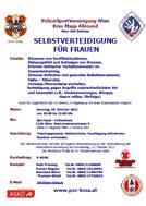 """Workshop """"Selbstverteidigung für Frauen"""""""