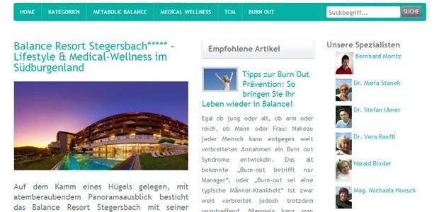 Hotels für Gesundheitsurlaub in Österreich bieten die Falkensteiner Hotels & Resorts