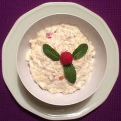 Rezept Couscous-Topfencreme mit Früchten