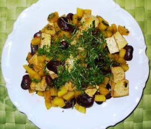Rezept des Monats: Vegetarisches Tofugröstl