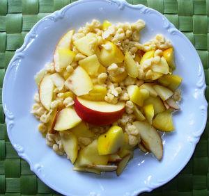 Rezept Apfelspätzle