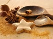 Süßes Weihnachtsgebäck